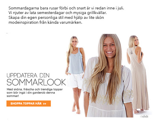Sommarlook hos Shoppinggallerian.se