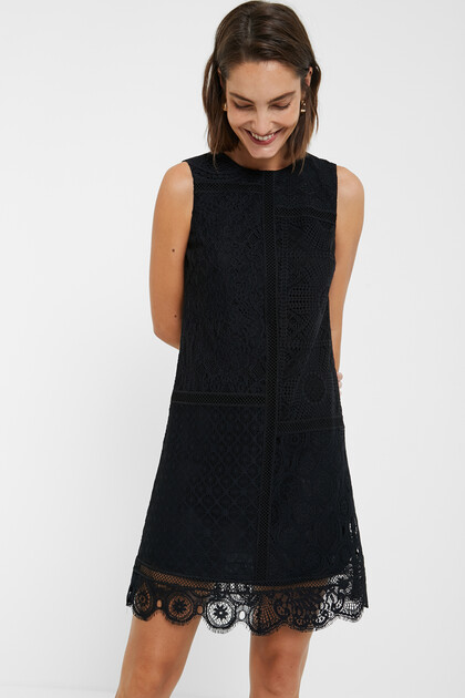 Desigual_Black_Sleeveless dress